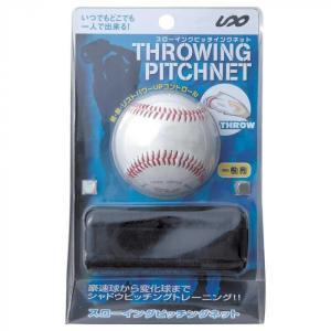 野球 練習用品 スローイングピッチネット 一般大人用 硬式ボール付 SPG-1063|lowprice