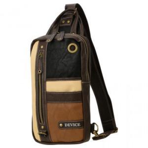 DEVICE(デバイス) トリコ ボディバッグ ブラック/ブラウン DBG40033-BKBR-F|lowprice