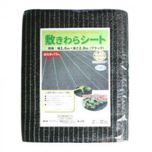 農業・園芸資材 敷きわらシート ブラック 1m×2m GP1210|lowprice