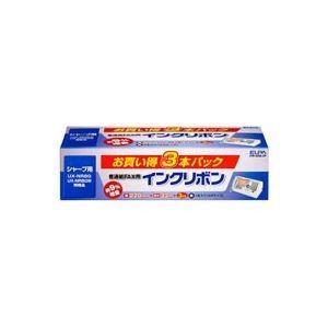 (業務用3セット)朝日電器 ELPA 普通紙FAXリボン FIR-SR8-3P 3本 ×3セット