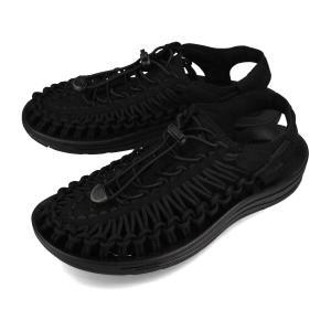 決算セール サンダル レディース 履きやすい アウトドア キーン ウーマン ユニーク KEEN WOMEN UNEEK BLACK/BLACK ブラック 黒 1014099