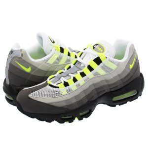 スニーカー メンズ ナイキ エアマックス 95 NIKE AIR MAX 95 OG BLACK/VOLT/MEDIUM ASH/DARK PEWTER|lowtex