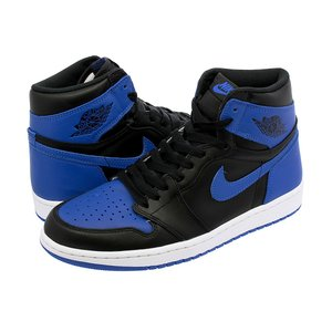 NIKE AIR JORDAN 1 RETRO HIGH OG 【ROYAL】 ナイキ エア ジョーダン 1 レトロ ハイ OG BLACK/VARSITY ROYAL/WHITE|lowtex