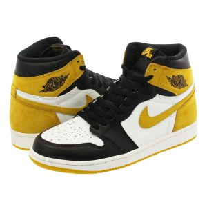 NIKE AIR JORDAN 1 RETRO HIGH OG 【HAND IN THE GAME COLLECTION】 ナイキ エア ジョーダン 1 レトロ ハイ OG WHITE/BLACK/YELLOW OCHRE|lowtex