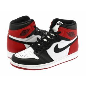 NIKE AIR JORDAN 1 RETRO HIGH OG 【つま黒】【BLACK TOE】【2016年製】 ナイキ エア ジョーダン 1 レトロ ハイ OG WHITE/BLACK/VARSITY RED|lowtex