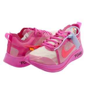 NIKE ZOOM FLY SP【THE TEN】 【OFF-WHITE】 ナイキ ズーム フライ SP オフ ホワイト TULIP PINK/RACER PINK aj4588-600|lowtex
