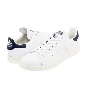 adidas Stan Smith adidas Originals メンズ レディース アディダス スタンスミス WHITE/NAVY スニーカー シューズ 白 ホワイト aq4651|lowtex
