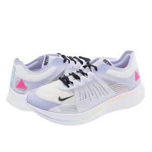 NIKE ZOOM FLY 【BE TRUE】 ナイキ ズーム フライ  WHITE/MULTI COLOR ar4348-105|lowtex