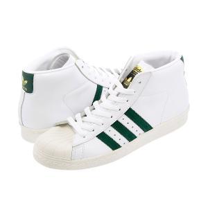 adidas PRO MODEL 80s 【adidas originals】 アディダス プロモデル 80s RUNNING WHITE/COLLEGIATE GREEN/CORE BLACK