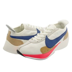 NIKE MOON RACER QS ナイキ ムーン レーサー QS SAIL/GYM BLUE/SOLAR RED/PRALINE bv7779-100|lowtex