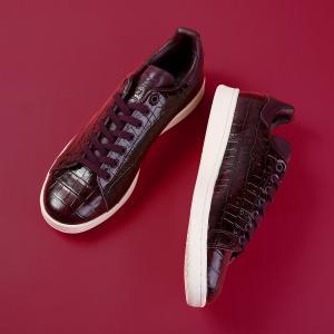 【国内店舗限定モデル】 adidas STAN SMITH 【adidas Originals】【メンズ】【レディース】 アディダス スタンスミス DARK BURGUNDY/DARK BURGUNDY|lowtex