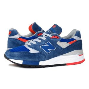 NEW BALANCE M998CSAL MADE IN U.S.A.  ニューバランス M 998 CSAL BLUE/GREY/WHITE/ORANGE|lowtex