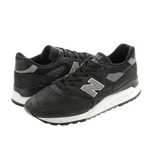 NEW BALANCE M998DPHO 【MADE IN U.S.A.】 ニューバランス M998DPHO BLACK/GREY|lowtex