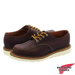 RED WING WORK OXFORD MADE IN U.S.A. レッドウイング ワークオックスフォード MAHOGANY|lowtex