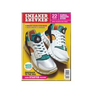 SNEAKER FREAKER MAGAZINE ISSUE 22 スニーカーフリーカー マガジン ...