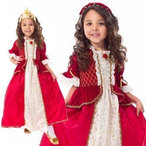 e9f9b2f607795 ベル コスチューム プリンセス ドレス キッズ 女の子 仮装衣装 コスプレ クリスマス ウィンタービューティー  ...
