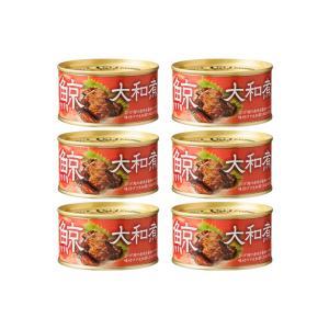「国産 缶詰 鯨」木の屋 石巻水産  鯨大和煮 缶詰 6缶まとめ買い