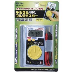 人気・ELPA デジタルマルチテスター SK-6500|ls-store