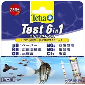 人気・テトラ (Tetra) テスト 6 in 1 試験紙|ls-store