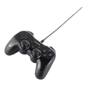 人気・iBUFFALO USBゲームパッド 12ボタン 振動機能付 ブラック 【ドラゴンズドグマ オンライン 動作認定モデル】 BSGP1204BK|ls-store