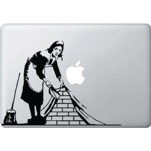 人気・MacBook 対応 アートステッカー The Maid the Broom and the Wall -[並行輸入品]|ls-store