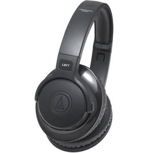 人気・audio-technica STREET MONITORING 密閉型ポータブルヘッドホン ワイヤレス ブラック ATH-S700BT ls-store