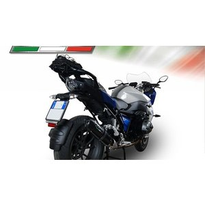 イタリア GPR FUCA FURORE CARBONLOOK カーボンルック (公道仕様) スリップオン マフラー BMW R1200RS 2015-|ltandpjapan