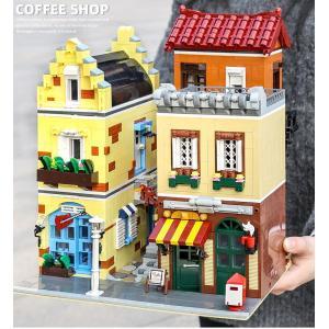 レゴ互換品 コーヒーショップ 喫茶店 3103ピース ltandpjapan