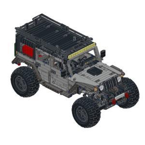 レゴ互換品 SUV スポーツ多目的車 1260ピース ltandpjapan