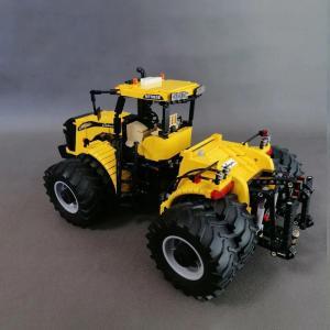 レゴ互換品 耕運機 耕うん機 トラクター 2297ピース ltandpjapan