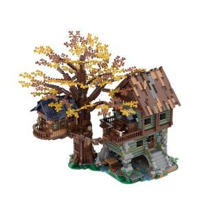 レゴ互換品 木の上の秘密基地と小屋 ツリーハウス 3286ピース ltandpjapan