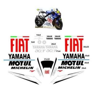グラフィック デカール ステッカー 車体用 / ヤマハ YZF-R1 YZF-R6 / M1レプリカ FIAT MotoGP バレンティーノ・ロッシ|ltandpjapan