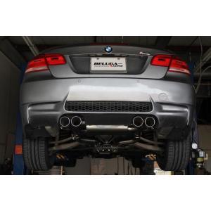 BMW E92/E93/E90 M3  Beluga Racing ベベルエッジ パフォーマンス マフラー