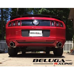 フォード マスタング Ford Mustang 2011 2012 2013 2014 V6 3.7L  Beluga Racing リアセクション パフォーマンス マフラー|ltandpjapan