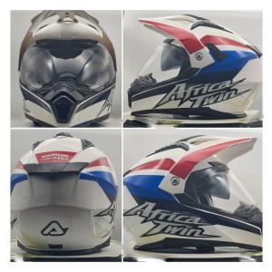イタリア製 ACERBIS アチェルビス オフロードヘルメット アフリカツインアドベンチャー 新品未使用品 オリジナルデザイン バイク 各サイズ ltandpjapan