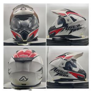 イタリア製 ACERBIS アチェルビス オフロードヘルメット アフリカツインホワイト 新品未使用品 オリジナルデザイン バイク 各サイズ ltandpjapan