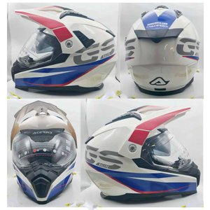 イタリア製 ACERBIS アチェルビス オフロードヘルメット GSラリーエンデューロキャスコ 新品未使用品 オリジナルデザイン バイク XS S M L ltandpjapan