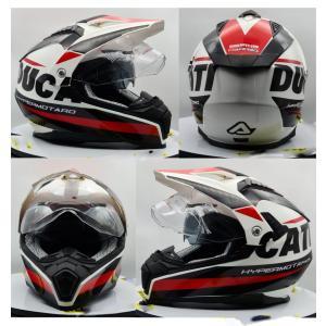 イタリア製 ACERBIS アチェルビス オフロードヘルメット Ducati Hypermotard ドゥカティ ハイパーモタード 新品未使用品 バイク用 各サイズ ltandpjapan