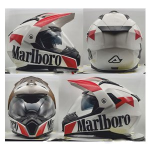イタリア製 ACERBIS アチェルビス オフロードヘルメット マールボロ 新品未使用品 オリジナルデザイン バイク 各サイズ ltandpjapan