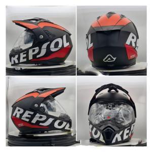 イタリア製 ACERBIS アチェルビス オフロードヘルメット レプソル 新品未使用品 オリジナルデザイン バイク 各サイズ ltandpjapan