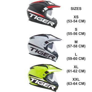 イタリア製 ACERBIS アチェルビス オフロードヘルメット TIGER Enduro タイガー 新品未使用品 オリジナルデザイン バイク 各サイズ ltandpjapan