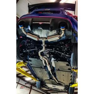 Invidia N2 キャタバックマフラー ストレートカット チタンチップ スバル BRZ トヨタ 86 12-|ltandpjapan