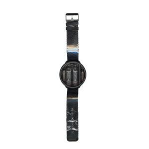 世界初のUSB給電可能なニキシー管腕時計(Ver.2本体 ブラックチタンボディ&ブラックメッシュバンド)|ltandpjapan
