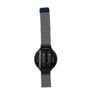 世界初のUSB給電可能なニキシー管腕時計(Ver.2本体 グレーチタンボディ&シルバーメッシュバンド)|ltandpjapan