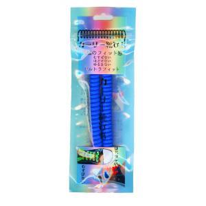 カーリー靴ひも ブルー 最強のフィット感 むすばない ほどけない ゆるまない ウルトラフィット スプリング形状の伸びるゴム製靴紐|ltandpjapan