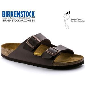 ビルケンシュトック アリゾナ BIRKENSTOCK ARIZONA BS(REGULAR FIT) DARK BROWN 0051701 ダークブラウン レザーサンダル ダブルストラップ サンダル|ltd-online