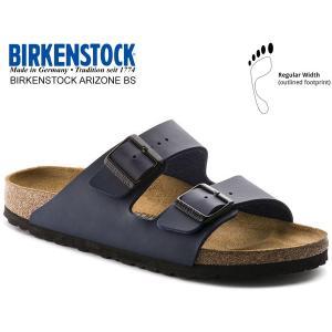 ビルケンシュトック アリゾナ BIRKENSTOCK ARIZONA BS(REGULAR FIT) BLUE 0051751 ブルー ネイビー  レザーサンダル ダブルストラップ サンダル|ltd-online