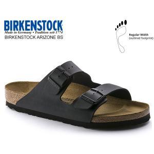 ビルケンシュトック アリゾナ BIRKENSTOCK ARIZONA BS(REGULAR FIT) BLACK 0051791 ブラック レザーサンダル ダブルストラップ サンダル|ltd-online
