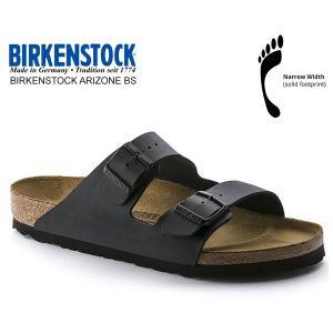 ビルケンシュトック アリゾナ BIRKENSTOCK ARIZONA BS(NARROW FIT) BLACK 051793 ブラック レザーサンダル ダブルストラップ サンダル|ltd-online