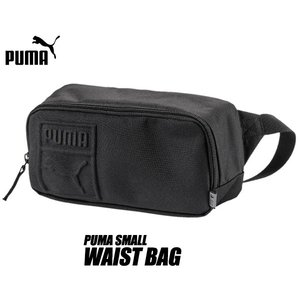 プーマ スモール ウェスト バック PUMA SMALL WAIST BAG BLACK 075642-01 ウエストポーチ ヒップ バック ブラック|ltd-online